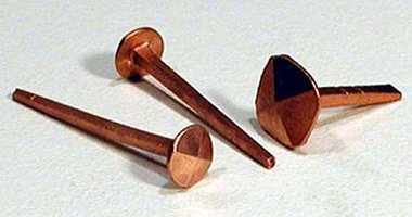 Faering Design Copper Nails Roves And Fasteners